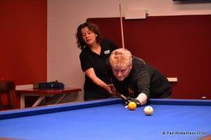 Karina Jetten - Pro Female Billiards - Biljartclinic - Paul Brekelmans