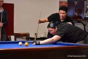 Therese KLompenhouwer - Pro Female Billiards - Biljartclinic - Paul Brekelmans